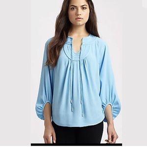 Diane Von Furstenberg Acquilina Top blouse SZ 12